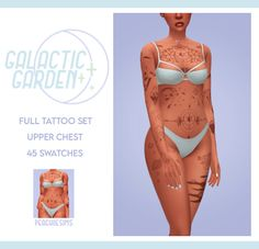 Sims Four, Sims 4 Mm Cc, Sims 4 Mods Clothes, Sims 4 Clothing, Sims 4 Body Mods, Sims 4 Cas Mods, Sims 4 Tattoos, Sims 4 Piercings, The Sims 4 Skin