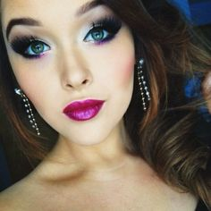 I did my makeup similar to this almost daily in Junior High...missing it, might revisit :)