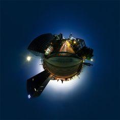 ffm.little.planet by Johannes Heuckeroth on 500px