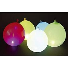 Classic Line - LED Partyballons, 5-tlg.