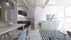 Cozy Apartment, Corner Desk, Kitchens, Dining Table, Furniture, Design, Home Decor, Corner Table, Decoration Home