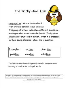 Printables Words Ending In Tion Worksheet 1000 images about phonics on pinterest worksheets fractions tricky tion teaches students at the end of words