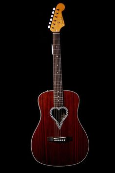 Fender New Alkaline Trio Heart Shaped Hole. Valentine's Day guitar! From Norman's Rare Guitars. Located in the heart of the San Fernando Valley, Norman's Rare Guitars carries a wide and often changing variety of new, used, and vintage guitars from many different manufacturers.