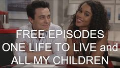 How To Watch FREE Episodes of All My Children & One Live To Live http://www.youtube.com/watch?v=ByTE2_hhzeM=PLcDhCBuPQ5gnwWwInOgp-PywlU5kCJVFe