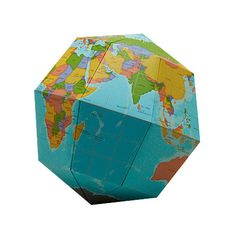 Sectional Globe Basic from NATURE DETAILED