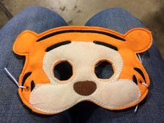 Tigger mask Winnie the Pooh Costume Mask by RagansCrazyCreations