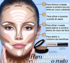 44 Ideas Makeup Contour Tutorial Step By Step Make Up For 2020 Best Makeup Tips, Makeup 101, Makeup Inspo, Makeup Inspiration, Best Makeup Products, Makeup Looks, Makeup Primer, Makeup Style, Beauty And More