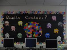 This elephant outline is great to help your class practise their computing and creative skills, using a computer painting software or interactive whiteboard. Primary School Displays, Class Displays, Classroom Displays, Photo Displays, Classroom Ideas, French Teaching Resources, Teaching French, Teaching Spanish, Primary Resources