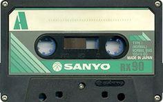 SANYO RX 90 Tapas, Sony Electronics, Hi Fi System, Magnetic Tape, Cassette Tape, Nihon, Audio Equipment, Ephemera, Compact