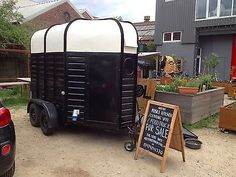 Image result for horse box catering trailer for sale