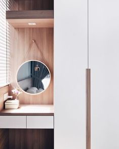 Happy long weekend! 🎉 What a perfect weather to lounge at home 🍵 - Vanity mirror and wardrobe for a Muji home concept at Bellewaters✨ .…