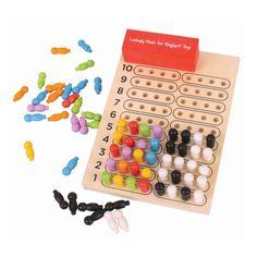 MasterMind - Łamacz kodów - gra drewniana #Bigjigs