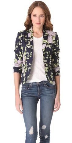 Rag   Bone Bailey Floral Print Jacket $495.00 - Buy it here: https://www.lookmazing.com/products/show/2844809?shrid=46