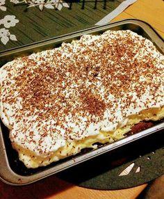Amerikai krémes, ha valami nagyon finomra vágysz, próbáld ki! Sweet Recipes, Cake Recipes, Hungarian Recipes, Cake Cookies, Food And Drink, Cooking Recipes, Yummy Food, Sweets, Snacks