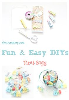 Fun and Easy DIYs Treat Bags. This is a quick project under 30 minutes that can be for a party, Easter or other celebration.You'll love how easy this Peeps DIY craft project is. Bonus there is a reader discount off your purchase of Peeps, in case you want to make some. #PEEPSSONALITY ad
