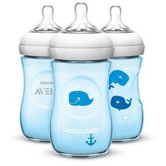 Philips Avent Natural Bottle Blue *** More info could be found at the image url. Avent Baby Products, New Baby Products, Avent Natural Bottles, Best Baby Bottles, Newborn Schedule, Target Baby, Diaper Bag, Blue Bottle, Everything Baby