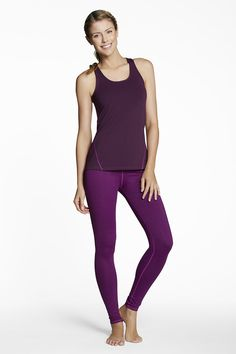 Cut outfit from @fabletics . Perfect for days when I need a longer legging for a run. #FitFor2015Sweeps.