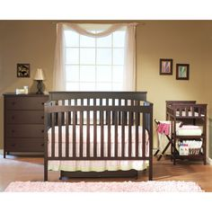 Sorelle SB2 Petite Paradise Convertible Crib Set – Nurzery.com