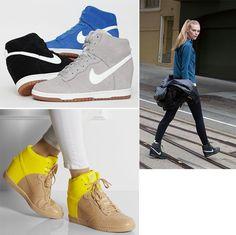 le Sneakers con la Zeppa