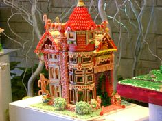 gingerbread house  #gingerbread   #gingerbreadhouse Now that's a gingerbread house!