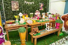 Especial de decoração da Festa Masha e o Urso, com inspirações para a mesa, cenário, comidinhas e lembrancinhas. Vocês sabem quer não sou de fazer post sério sobre festa infantil (como esse manifes…