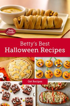 With these killer Betty Crocker recipes, you can conjure up dinner, dessert, and a spooky snack all before your doorbell starts ringing. Don't scare easy? Once you've created these, we've got even more recipes that will have every little monster asking for more.