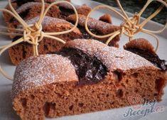 Famózní nepečené ovocné řezy | NejRecept.cz Sponge Cake, Sweet Cakes, Banana Bread, Food And Drink, Sweets, Eat, Cakes, New Years Eve, Candy Cakes