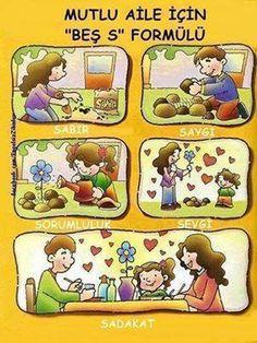 Mutlu aile için 5S formülü