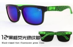 Sport Fashion Unisex Retro Ken Block Cycling Helm Sunglasses Aviator 12#