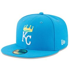 58c6653c774 Men s Kansas City Royals New Era Blue 2017 Players Weekend 59FIFTY Fitted  Hat