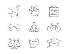 """다음 @Behance 프로젝트 확인: """"HB Reavis - Iconography"""" https://www.behance.net/gallery/57812037/HB-Reavis-Iconography"""