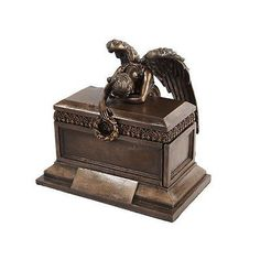 Weeping-Angel-Bereavement-Figure-Statue-Collection-Urn-or-Jewelry-Box-Christian