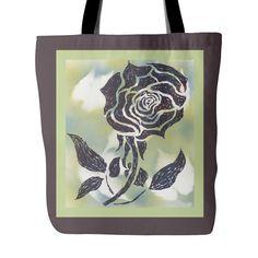 #5 American Beauty Rose Tote Bag