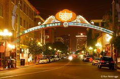 Gas Lamp District!