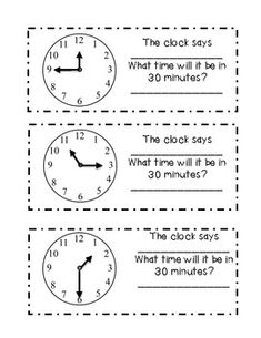 Its time to tell TIME! (Math activities)