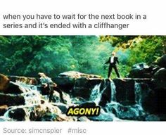 Or when you're in two fandom's with two cliff hangers and you can't tell which is worse
