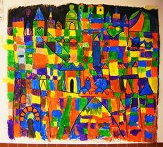 Atelier Pots de Peinture // CP // The city of Mary Blair