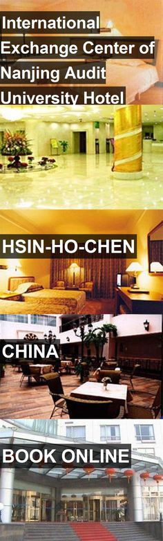 International Exchange Center of Nanjing Audit University Hotel in Hsin-ho-chen, China. For more information, photos, reviews and best prices please follow the link. #China #Hsin-ho-chen #travel #vacation #hotel