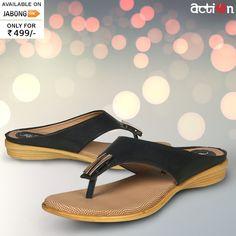 fff63eebbc45 Buy Action Black Sandals Online - 3032269 - Jabong