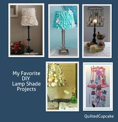 Lampshades DIY Lamp Shade Upcycle Projects & Chandys