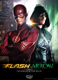 The Flash and Arrow TV Poster by Timetravel6000v2 on DeviantArt