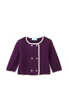 Bambeeno cashmere baby peacoat style sweater. You, too, can dress your toddler like Jackie-O.