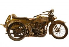 "George Pardos Collection ""Evolution of the Harley-Davidson Motorcycle"": 1925 Harley Davidson JDCBS w/sidecar"