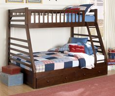 Kids Furniture-The Starship Collection-Starship Bunk Bed Set