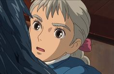 Heavy Burden, Howls Moving Castle, Manga Girl, Studio Ghibli, Bae, Cartoons, Anime, Heart, Castles