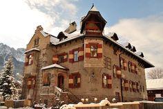 Villa Wachtler (all'interno il museo Dolomythos) San Candido  #TuscanyAgriturismoGiratola