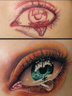 Amazing tattoo, but I'd never get it