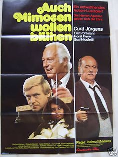 AUCH MIMOSEN WOLLEN BLÜHEN - Curd Jürgens, Horst Frank - Filmplakat A1 FOR SALE • CHF 6.50 • See Photos! Money Back Guarantee. *** Filmplakat *** Movie Poster *** Auch Mimosen wollen blühen Deutsches Original-Filmplakat im A1-Format (59 x 84 cm), gefaltet Zustand: gut - ohne Einstiche! Bitte beachten Sie die zahlreichen anderen 110339313293