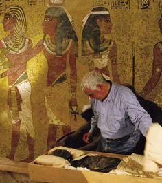 Many objects from King Tut's tomb are not allowed in displays outside of Egypt, like his mummy itself.