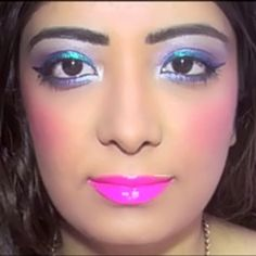 Created this glamorous & dreamy party makeup look using @maybellineindia products which is so affordable, easy available and my favorite. Experimented with multi-colored eyeliner and a new way to use the turquoise & black colossal kajal. Makeup tutorial video and tips on www.youtube.com/MissAngelicSmile #makeup #beauty #indianyoutuber #instaglam #maybellineindia #maybelline #glamorous #dreamy #makeuplook #makeuptutorial #beautyvlogger #beautyyoutuber #bblogger #indiangirl #mo